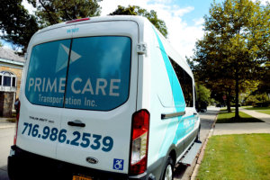 prime care transportation wheelchair van
